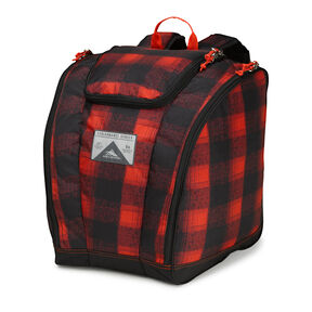 High Sierra Trapezoid Boot Bag in the color Buffalo Plaid.