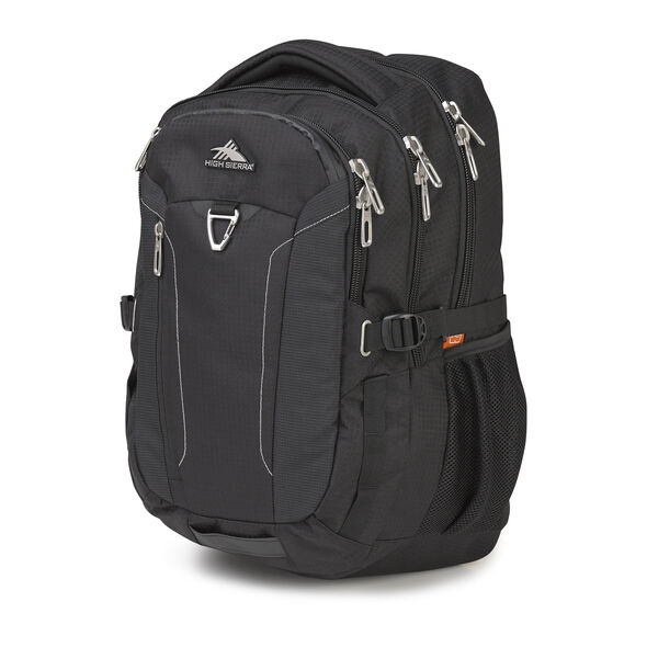 High Sierra Tephra Backpack in the color Black.