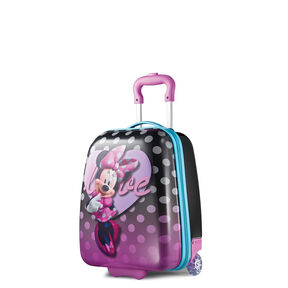 """American Tourister Disney 18"""" Hardside Upright in the color Minnie."""