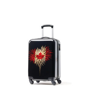 Canadian Tourister Collection Spinner Carry-On in the color Celebration.