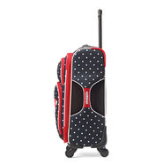 """American Tourister Disney Minnie Mouse 19"""" Spinner in the color Minnie Mouse Red Bow."""
