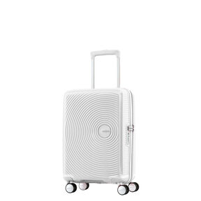 American Tourister Curio Spinner Carry-On in the color White.
