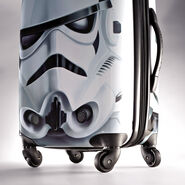 """American Tourister Star Wars 28"""" Spinner in the color Storm Trooper."""