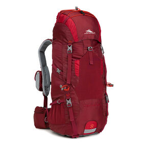High Sierra Tech 2 Series Lightning 35 Frame Pack in the color Brick/Carmine/Red Line.