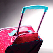 """American Tourister Disney 18"""" Softside Upright in the color Princess."""