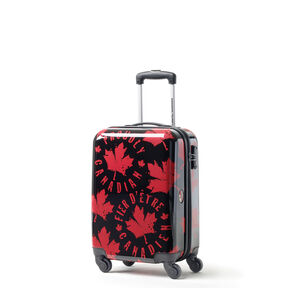 Canadian Tourister Collection Spinner Carry-On in the color Proud Leaf Red/Black.