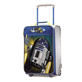 "American Tourister Disney 18"" Softside Upright in the color Star Wars R2D2."