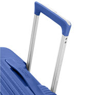 American Tourister Curio Spinner Carry-On in the color Denim Blue.