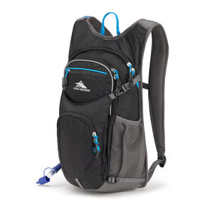High Sierra HydraHike 16L in the color Black/Slate/Pool.