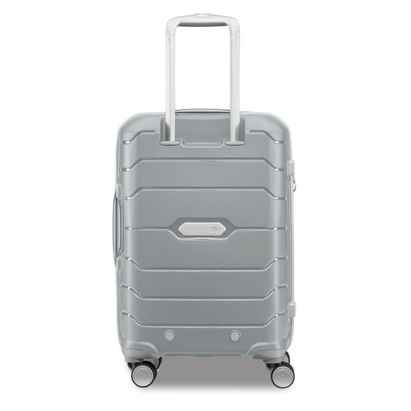 Samsonite Freeform Spinner Carry-On in the color Silver.