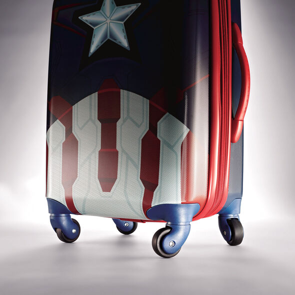 "American Tourister Marvel All Ages 28"" Spinner in the color Captain America."