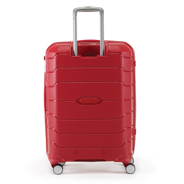 Samsonite Freeform Spinner Carry-On in the color Red.