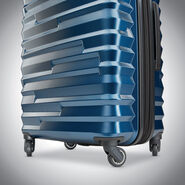 Samsonite Ziplite 4 Spinner Carry-On in the color Lagoon.