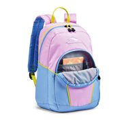 High Sierra Mini Loop Backpack in the color Iced Lilac/Powder Blue/Glow.
