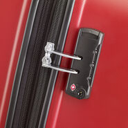 American Tourister Oceanfront Spinner Large in the color Red.