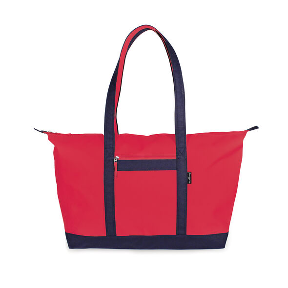 Samsonite Yacht Totes Yacht Tote in the color Red/Navy.