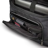 Samsonite Modern Utility Messenger Bag in the color Charcoal Heather/Charcoal.