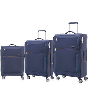 Samsonite Crosslite 3 Piece Set (CO/Med/Lrg) in the color Nautical Blue.