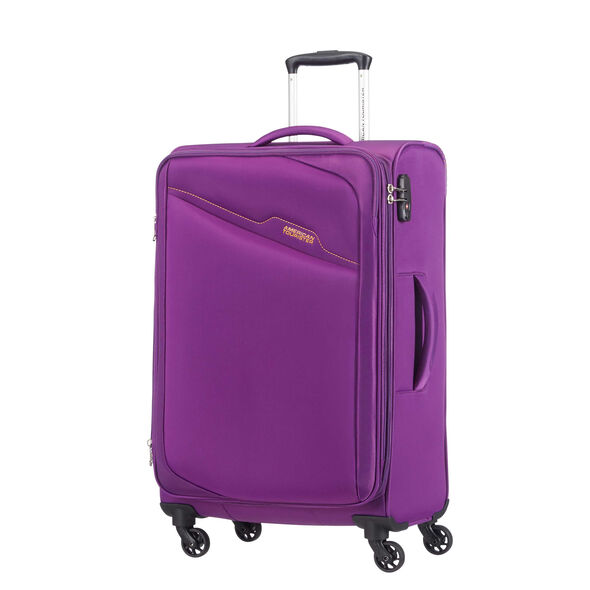 American Tourister Bayview Spinner Large in the color Passion Purple.