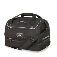 High Sierra Over Under Cargo Duffle in the color Black.