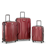 Samsonite Tribute NXT 3 Piece Set (CO/Med/Lrg) in the color Red.
