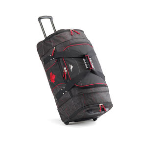 High Sierra Snow Sports Canada Athlete Duffle in the color Topical Map.
