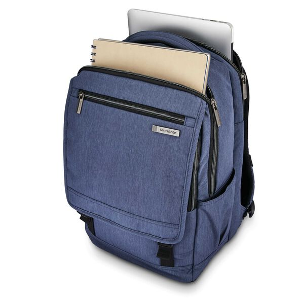 Samsonite Modern Utility Paracycle Backpack in the color Blue Chambray.