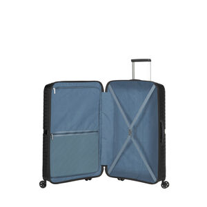 American Tourister Airconic Spinner Large in the color Onyx Black.