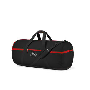 "High Sierra Packed Cargo Duffles 30"" Medium Duffle in the color Black/Crimson Red."