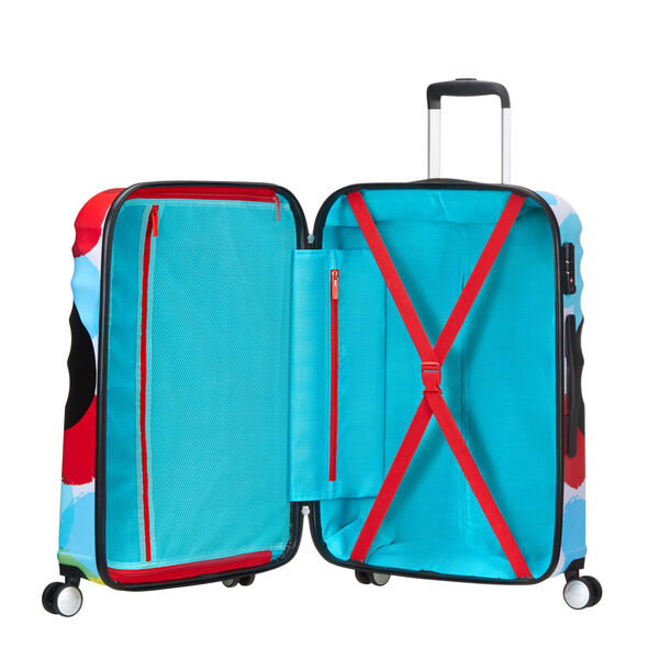 American Tourister Wavebreaker-Disney Spinner Large in the color Mickey Close Up.