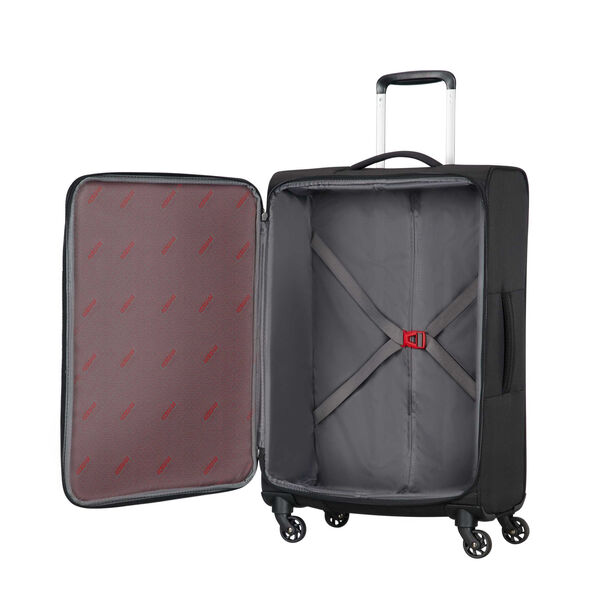American Tourister Litewing Spinner Large in the color Volcanic Black.