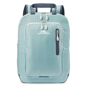 High Sierra Mindie Pro Backpack in the color Blue Haze/Grey Blue.