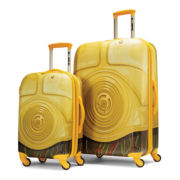 American Tourister Star Wars 2 Piece Set in the color C3PO.