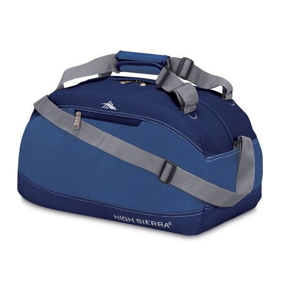 "High Sierra 20"" Pack-N-Go Duffle in the color Pacific/Blue Velvet."