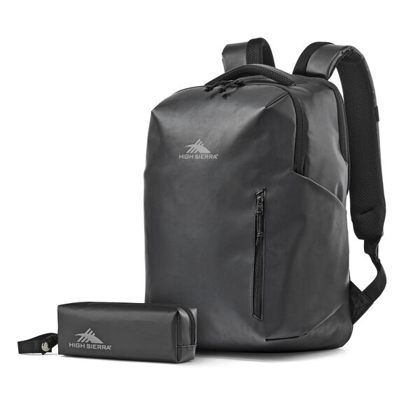High Sierra Rossby Daypack in the color Black/Black.