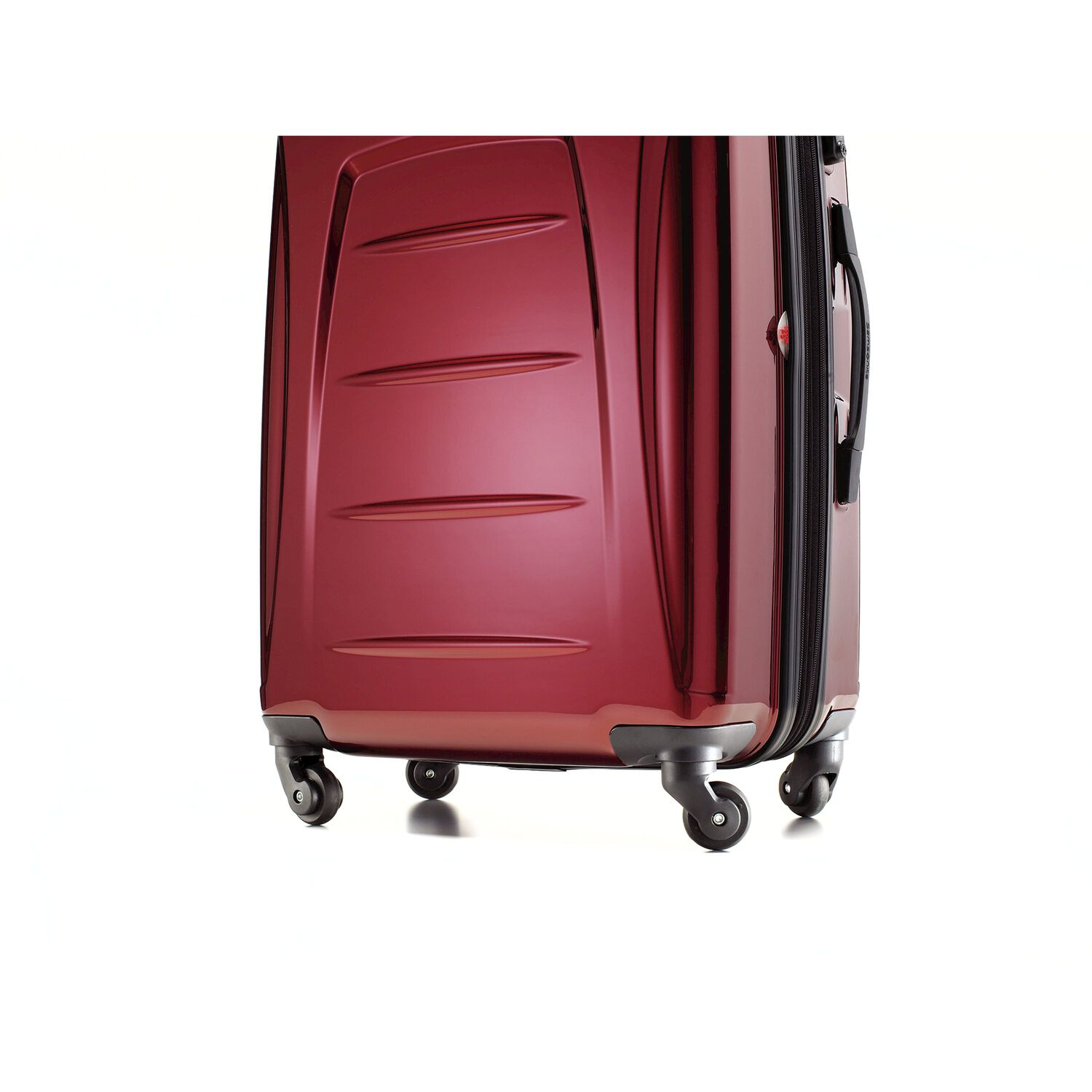0bb618842 Samsonite Winfield 3 Spinner Medium in the color Dark Red.