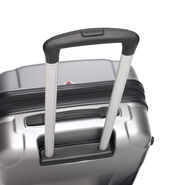 Samsonite Winfield NXT Spinner Large in the color Silver/Charcoal.