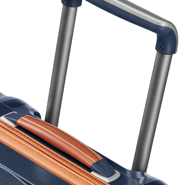 "Samsonite Black Label Lite-Cube DLX Spinner Large (31"") in the color Midnight Blue."