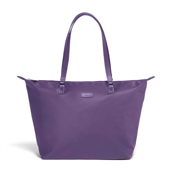 Lipault Lady Plume FL Tote Bag M in the color Light Plum.