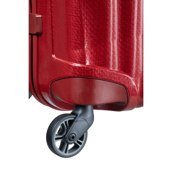 "Samsonite Cosmolite Spinner Large (30"") in the color Red."