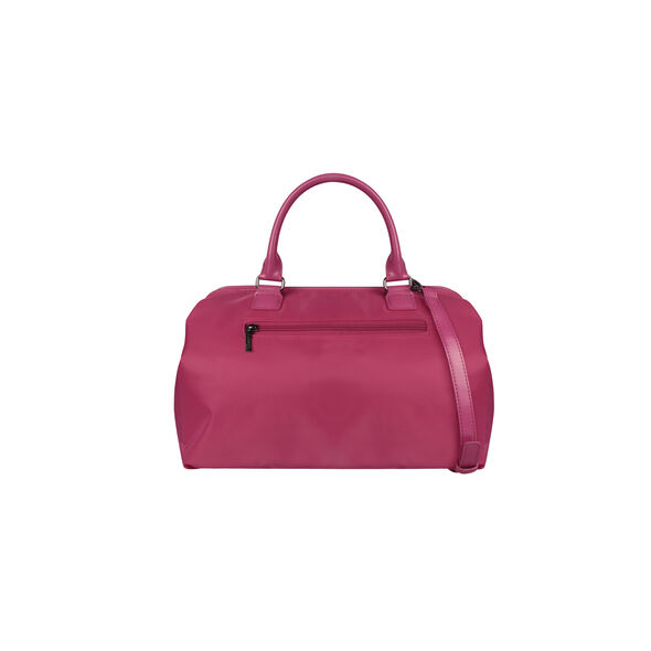 Lipault Lady Plume Bowling Bag M in the color Tahiti Pink.