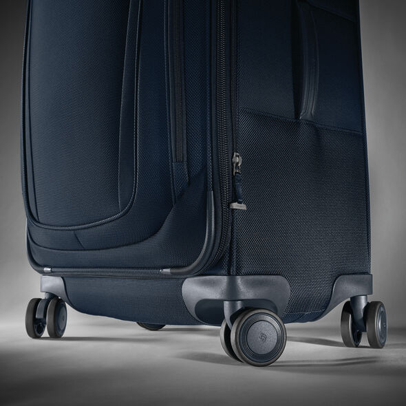 "Samsonite Silhouette 16 Expandable 25""  Spinner in the color Evening Teal."