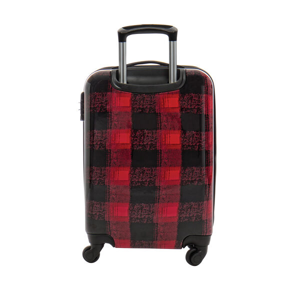 Canadian Tourister Collection Spinner Carry-On in the color Flannel Plaid.
