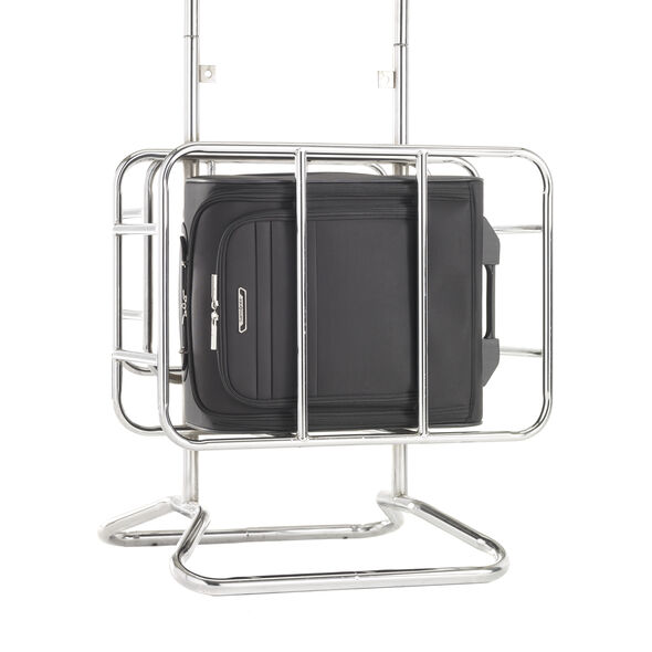 Samsonite ECO-Glide Wheeled Underseater Carry-On in the color Midnight Black.