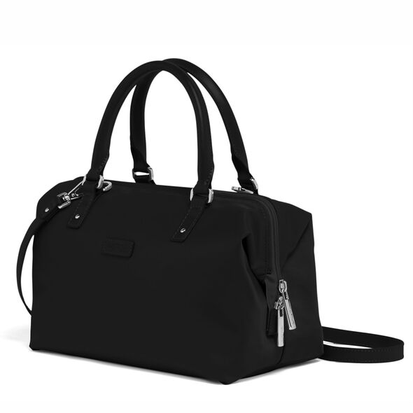 Lipault Lady Plume FL Bowling Bag S in the color Black.