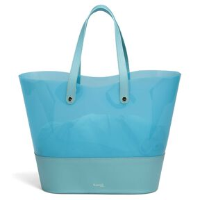 Lipault Pop N Gum Beach Bag in the color Coastal Blue.