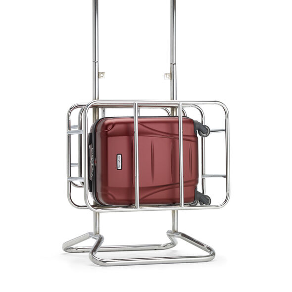 Samsonite Winfield NXT Spinner Underseater in the color Dark Red.