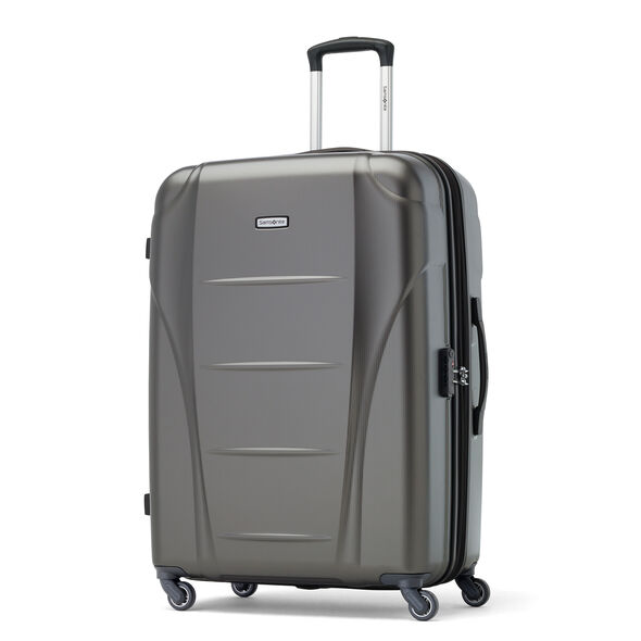 Samsonite Winfield NXT Spinner 3 Piece Set (CO/Med/Lrg) in the color Charcoal.