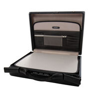 "Samsonite Focus III 6"" Attache in the color Black."
