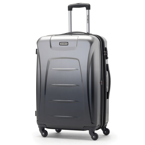 Samsonite Winfield 3 Fashion Spinner Large in the color Silver/Charcoal (ombre).